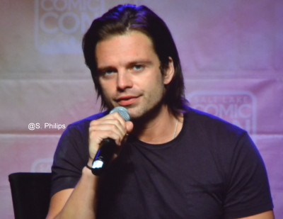 Sebastian Stan at 2015 Salt Lake City Comic Con.  Photo copyright Suzanne Philips