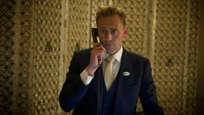 "Tom Hiddleston as Jonathan Pine in ""The Night Manager"".  Photo copyright BBC."