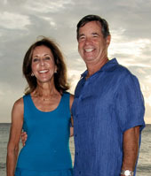 Jeff and Marsha Cohen, owners of a Valpak franchise.