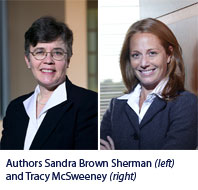 Authors Sandra Brown Sherman and Tracy McSweeney