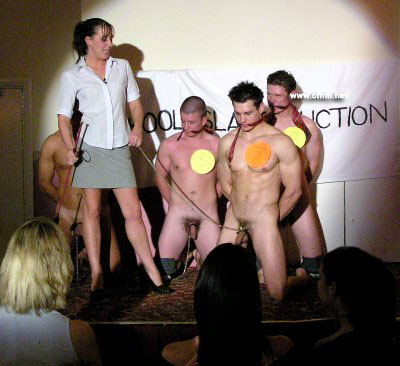 male slave auction