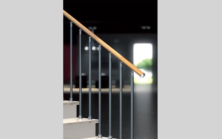 Balaustra a colonne verticali