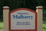 Mulberry - Welcome Sign