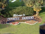 Polk County - Cypress Gardens Welcome Sign