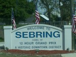 Sebring - Welcome Sign