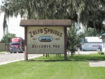 Zolfo Springs - Welcome Sign