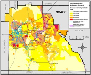 Polk County Broadband GIS Map