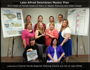 HOF 2012 Award of Merit - Lake Alfred