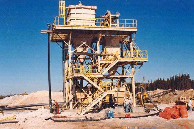 Frac Sand Density Separator 40 and 70 Mesh Separation
