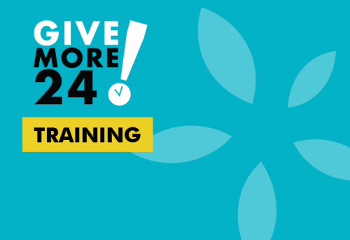 Give More 24! Training Day Two