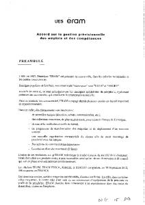 Accord sur la gestion prévisionnelle des emplois et des compétences (GPEC- Juillet 2016)