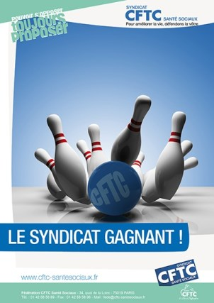 Poster : le bowling