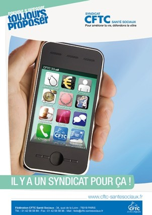 Poster : le smartphone