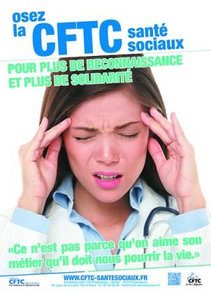 Poster : trop de stress