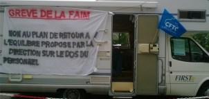 Grève de la faim à Vitré !