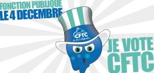 Le 4 décembre, je vote CFTC !