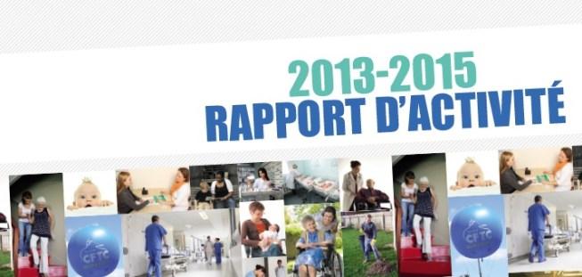 Rapport d'activité 2013-2015
