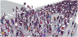 Défense de l'hôpital public: appel à la grève et actions