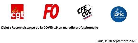 Entête Courrier Commun Covid-19 Maladie-Pro
