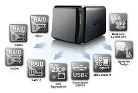 Como configurar unidades NAS Zyxel para CFTV.