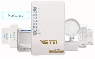 Painel de Alarme sem fio Vetti – 30 dias de uso. (exclusivo para empresas de monitoramento)
