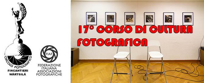 17° Corso di Cultura Fotografica