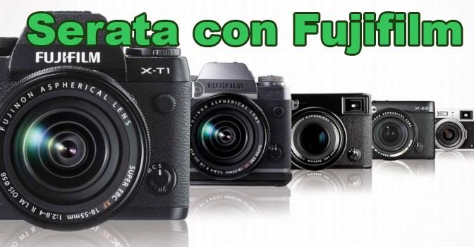 Serata con Fujifilm