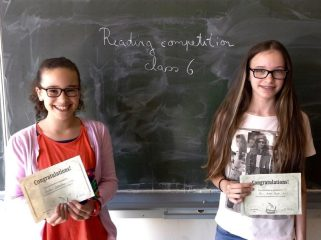 Reading Competition in Klasse 6