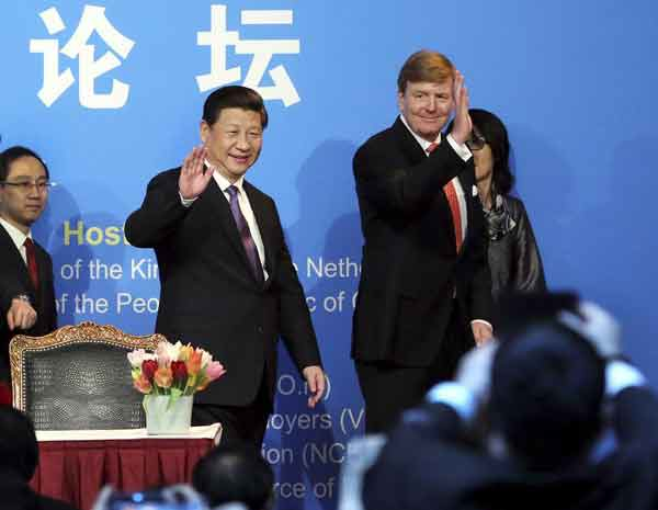 Chinese President Xi Jinping visits the Netherlands习近平主席出访欧洲第一站:荷兰 eca86bd9ddb41499ed9f0e
