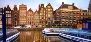 离开荷兰后才发现:鬼地方,我是那么的想念你 amsterdam canal 300x139