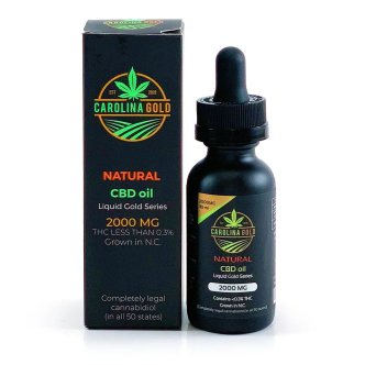 Carolina Gold CBD Oil 2000mg Natural