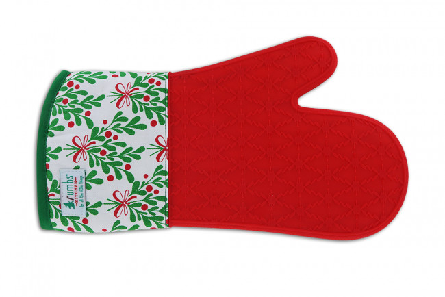 Krumb S Kitchen Silicone Holiday Oven Mitts 24pcs