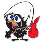 Calimero Cartoon Character Free Vector download - Cgcreativeshop