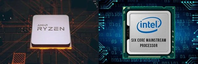 AMD Ryzen vs Intel CPU