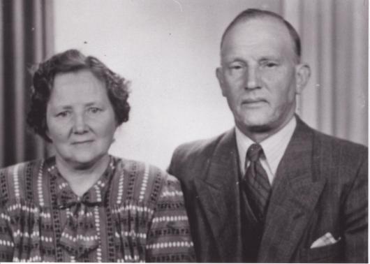 Farmor Maria och farfar Alfred Håkansson