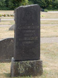 Enevåld Emil Jönsson (1855-1933) och hustrun Anna Catharina Johansdotter (1860-1916) Truedstorp, Ekeby