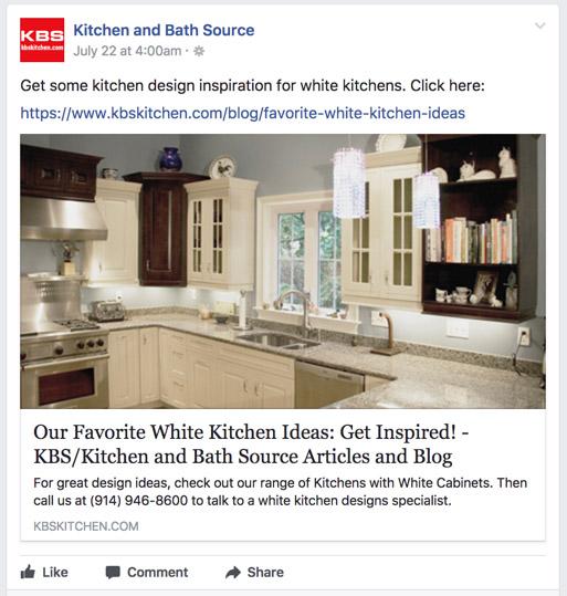 KBS/Kitchen & Bath Source - Facebook Post