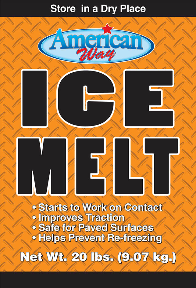 American Way Ice Melt - Package Design