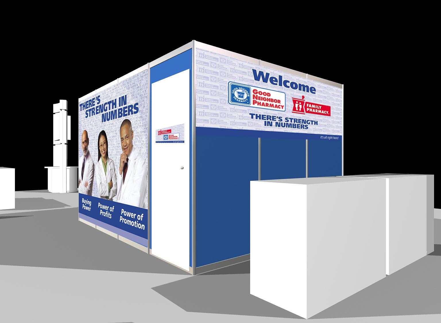 AmerisourceBergen Trade Show Booth Graphics