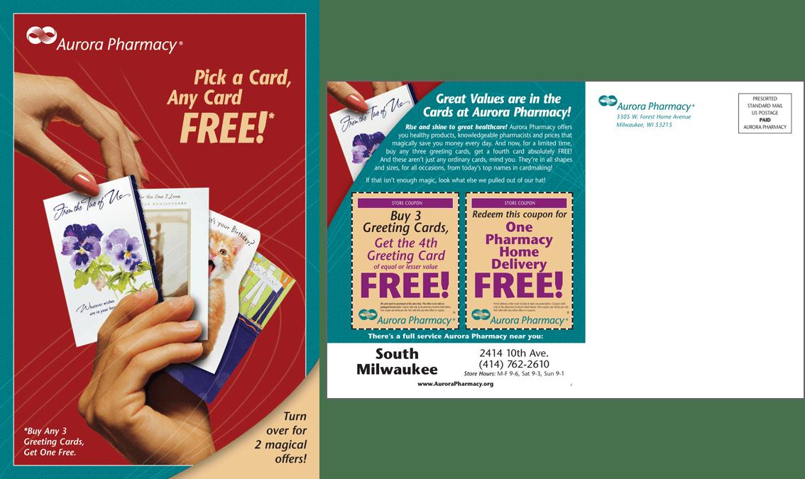 Aurora Pharmacy Post Card Campaign #2