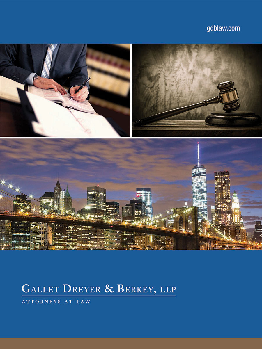 Gallet, Dreyer & Berkey Law Office - Pocket Folder