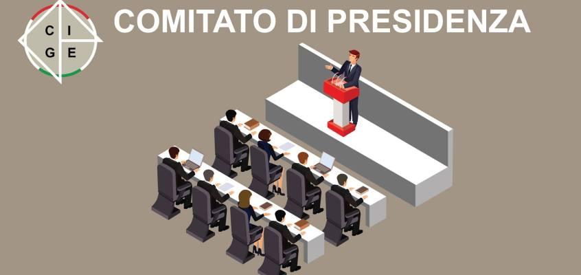 CGIE: A Roma 5-6-7 novembre 2019 riunione del CdP