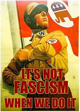 Yup. They are fascists.