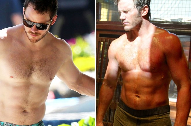 More Shirtless Chris Pratt!