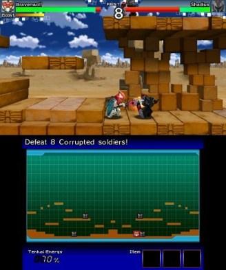 Tenkai Knights: Brave Battle (3DS) Review