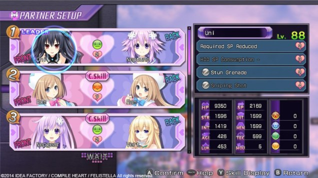 Hyperdimension Neptunia Re; Birth1 (PC) Review 1