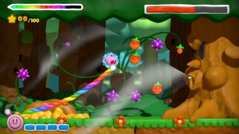 Kirby And the Rainbow Curse (Wii U) Review 4