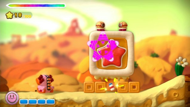 Kirby And the Rainbow Curse (Wii U) Review 3