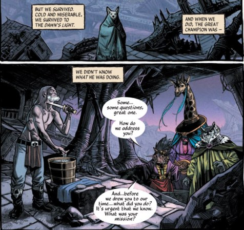 The Autumnlands: Tooth and Claw v.1 (Comic) Review 1