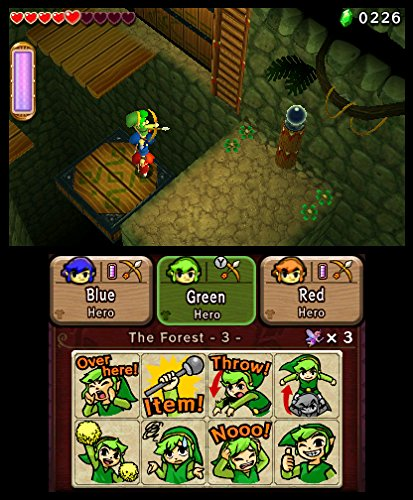 The Legend of Zelda: TriForce Heroes (3DS) Review 3